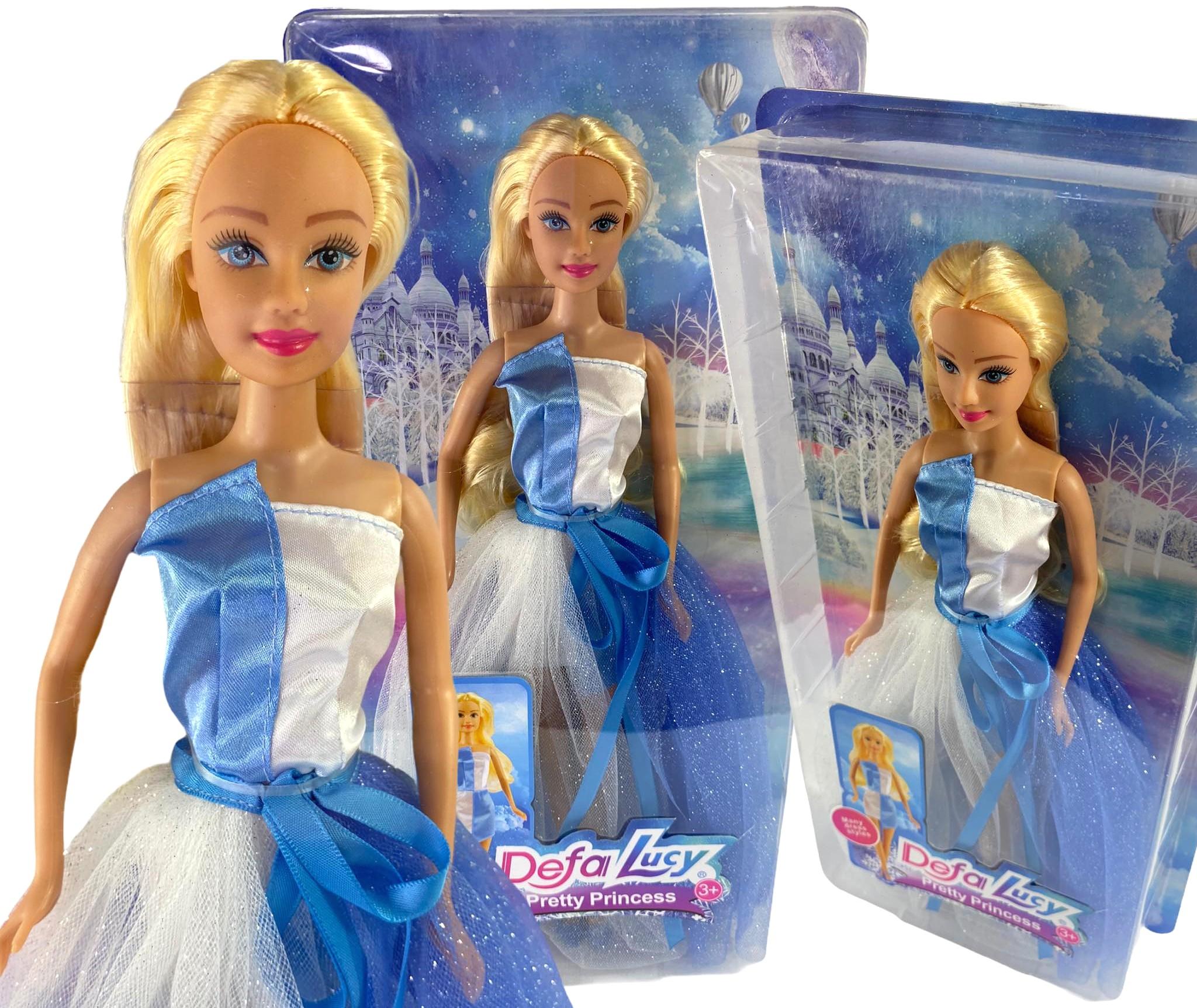 Lalka Defa Lucy Barbie balowa suknia księżniczka