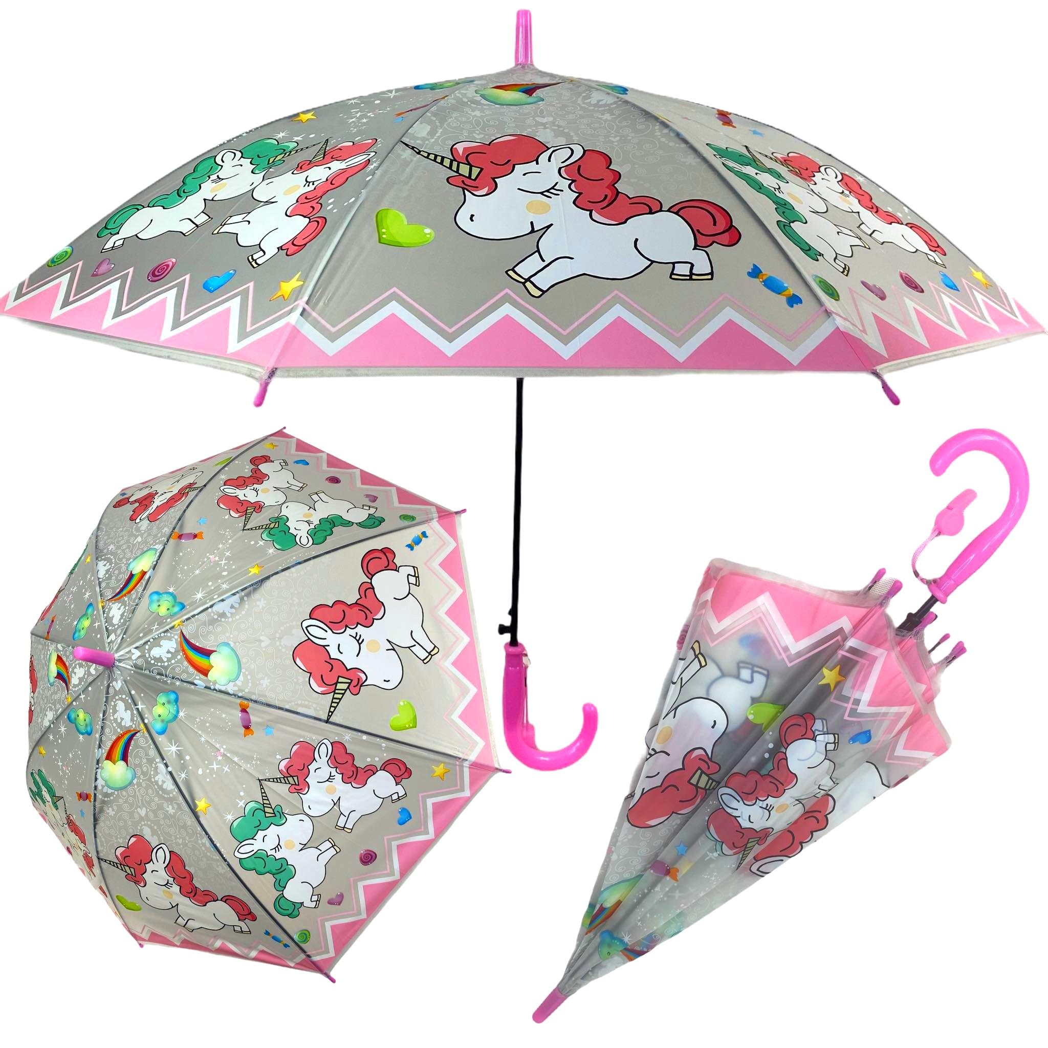 Parasolka przeciwdeszczowa UNICORN dla dziewczynki parasol