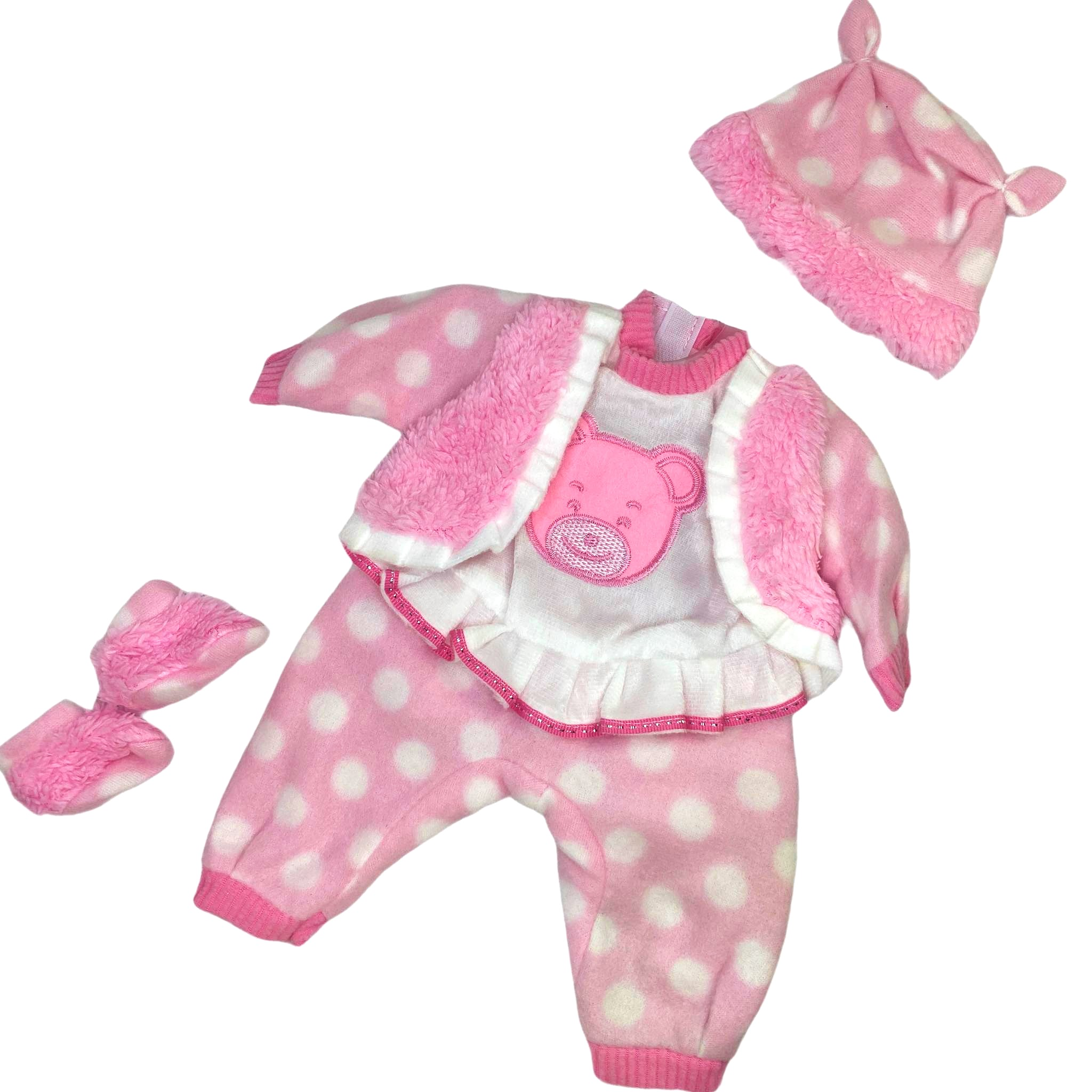 Ubranko dla bobasa lalki 40 cm