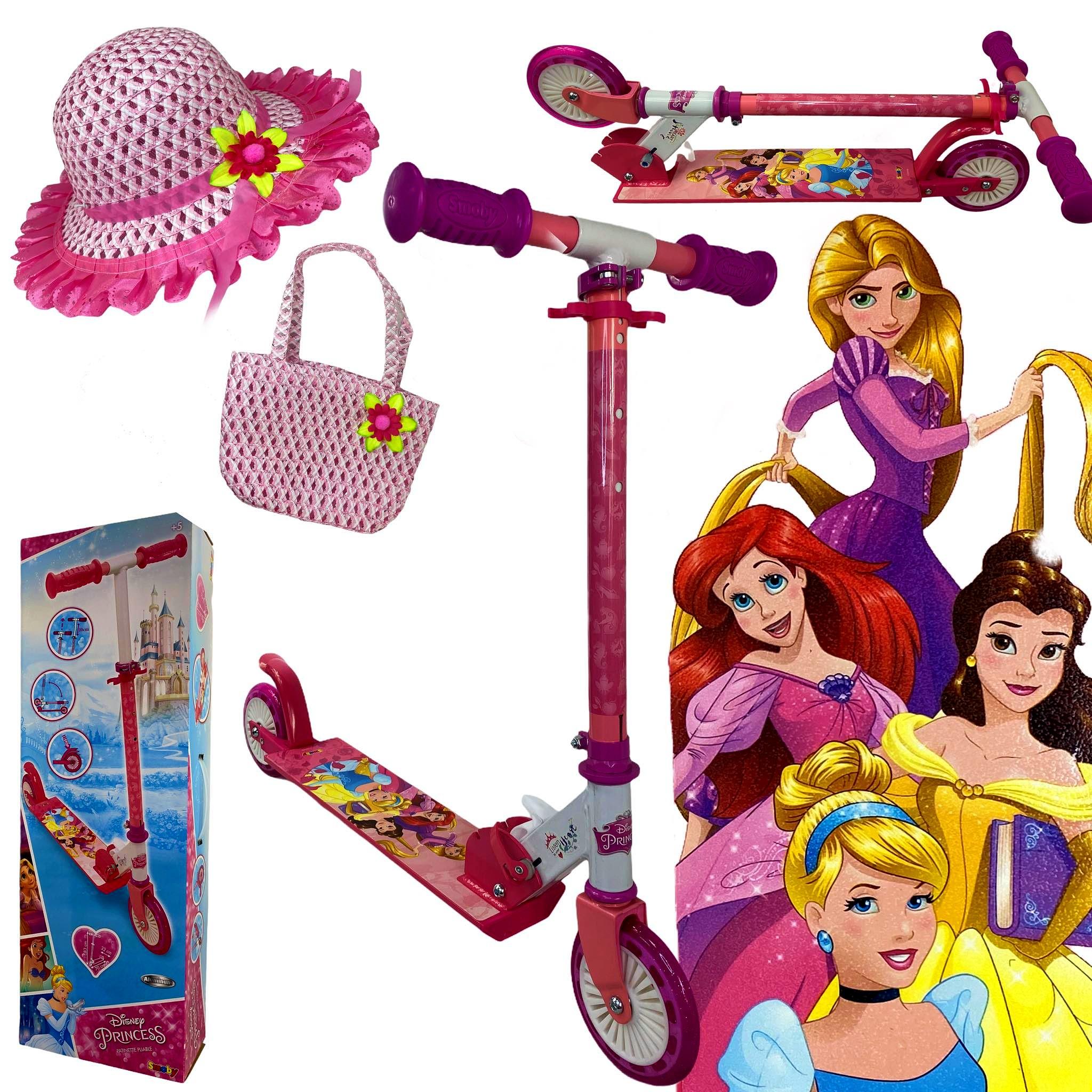 Hulajnoga dziecięca różowa SMOBY księżniczki