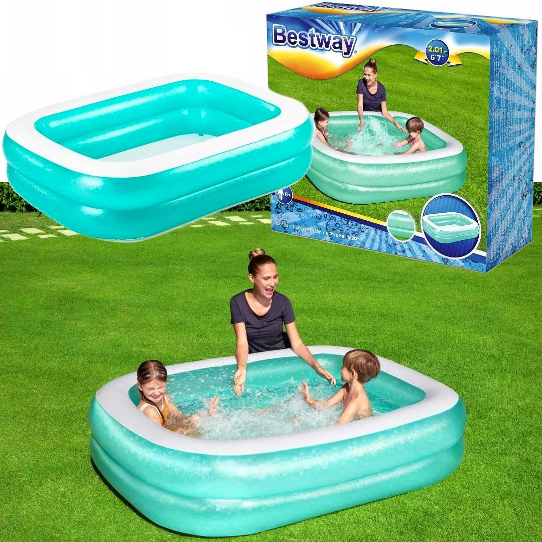 Duży rodzinny basen BESTWAY dla całej rodziny ogrodowy