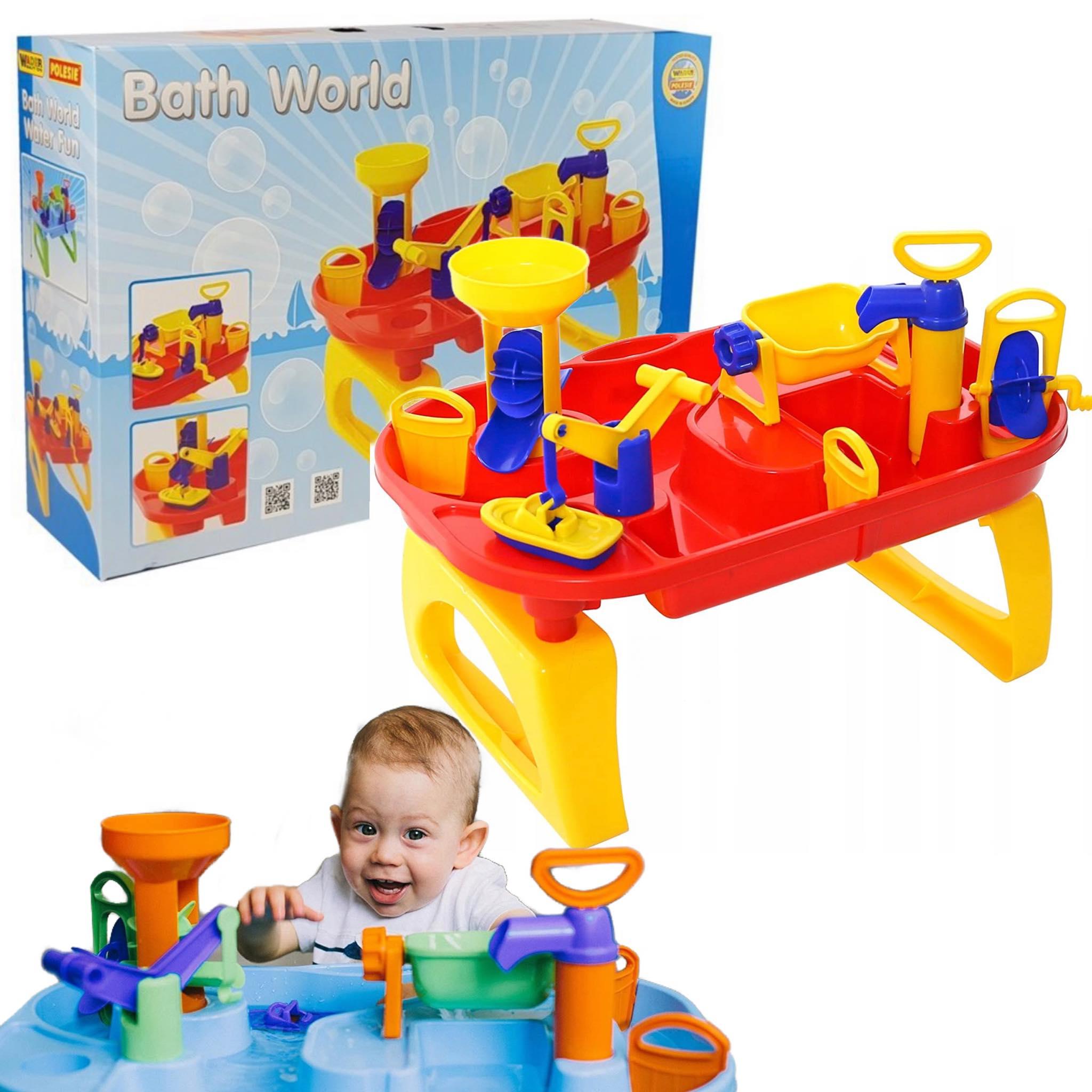 WODNY STOLIK wodna zabawka dla dzieci Do wanny