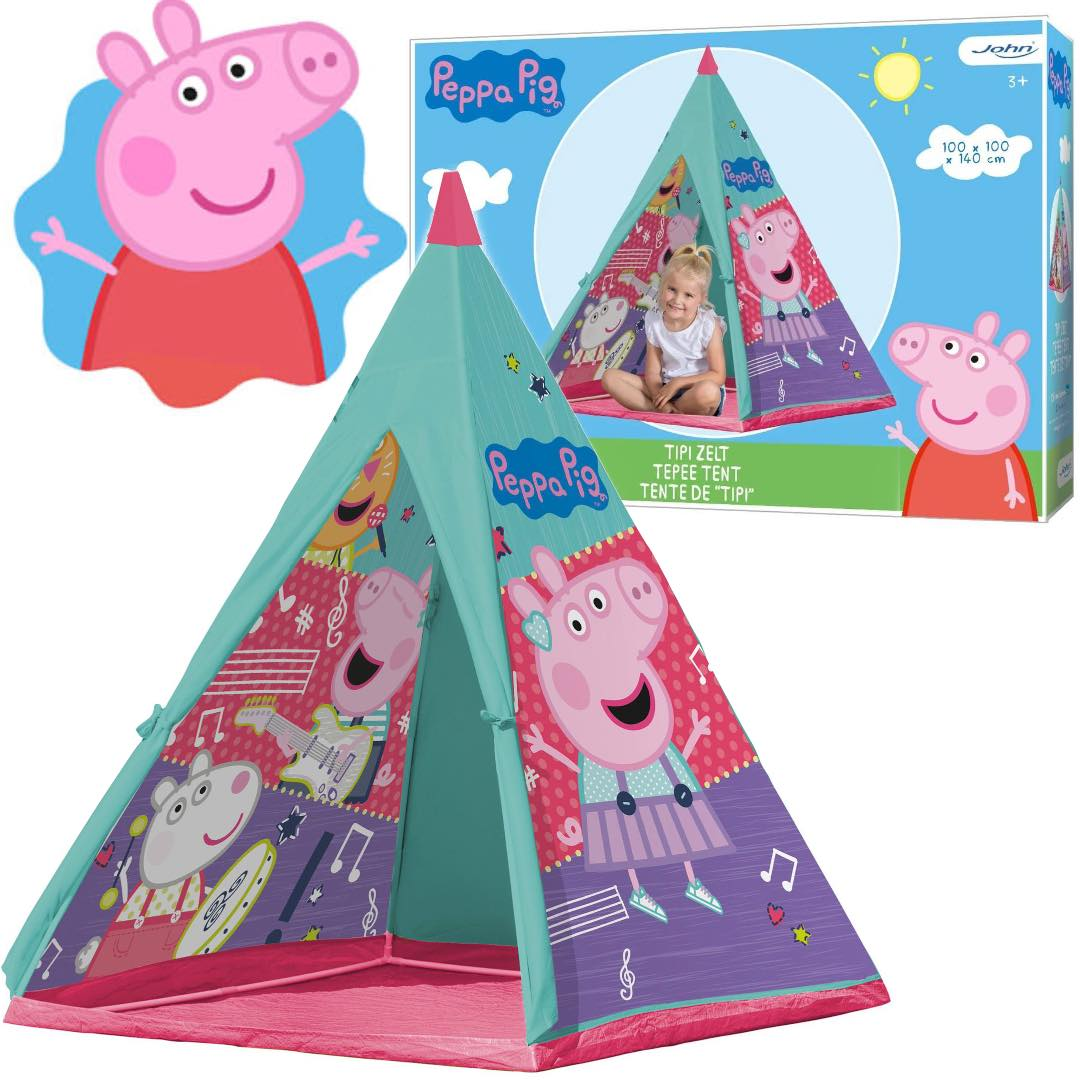 Namiot dziecięcy świnka PEPPA na ogród do domu TIPI
