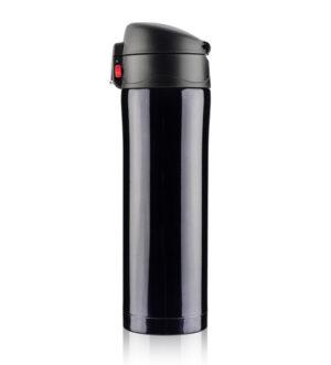 Kubek termiczny LOCK 440 ml - czarny