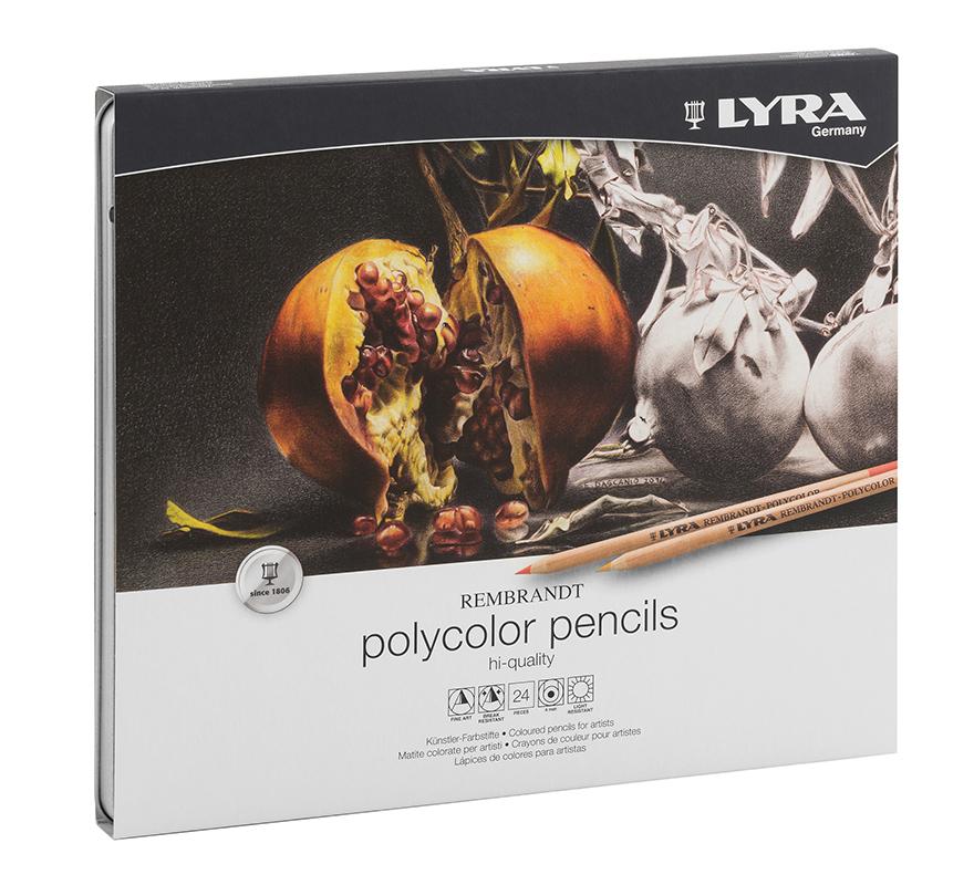 Kredki 24 szt. LYRA Rembrandt Polycolor