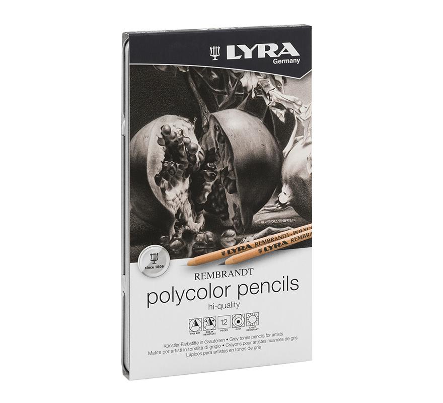 Zestaw Kredek 12 szt. LYRA Rembrandt Polycolor