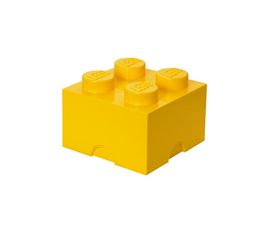 Pojemnik LEGO 4 Pomarańczowy