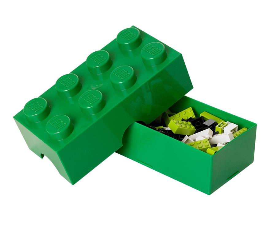 Pojemnik LEGO 8 ZIELONY