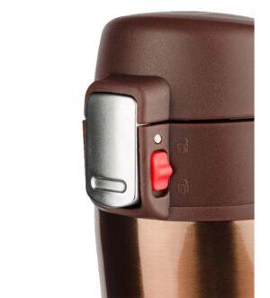 Kubek termiczny LOCK 440 ml - ciemny