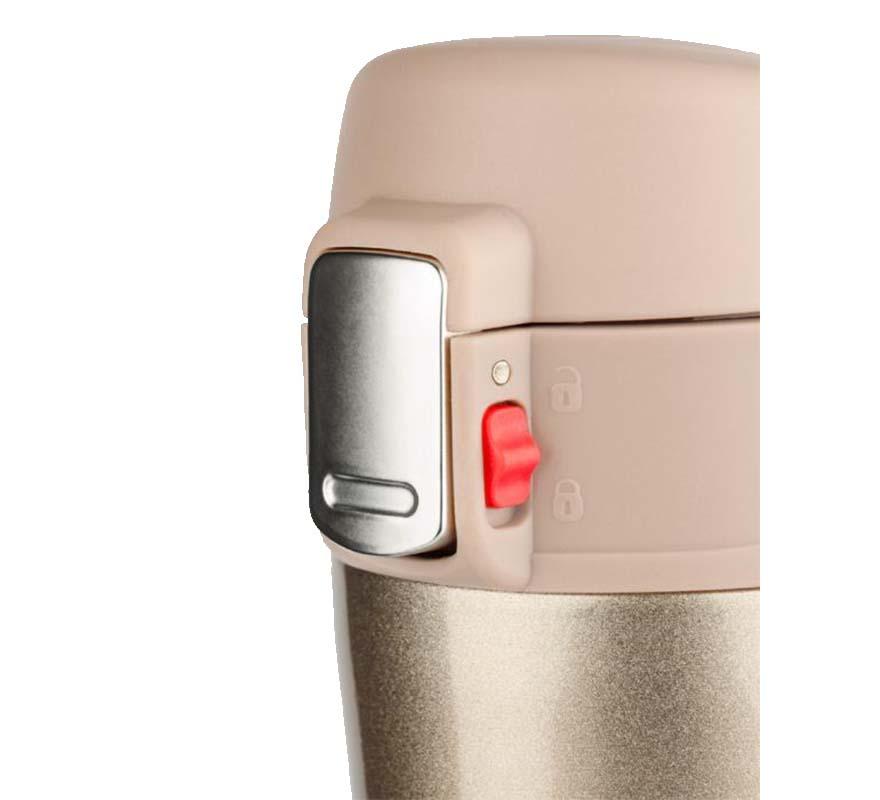Kubek termiczny LOCK 440 ml - jasny