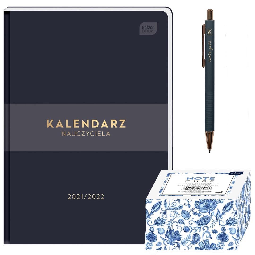 Kalendarz nauczyciela 2021/2022 A5 Interdruk dzienny