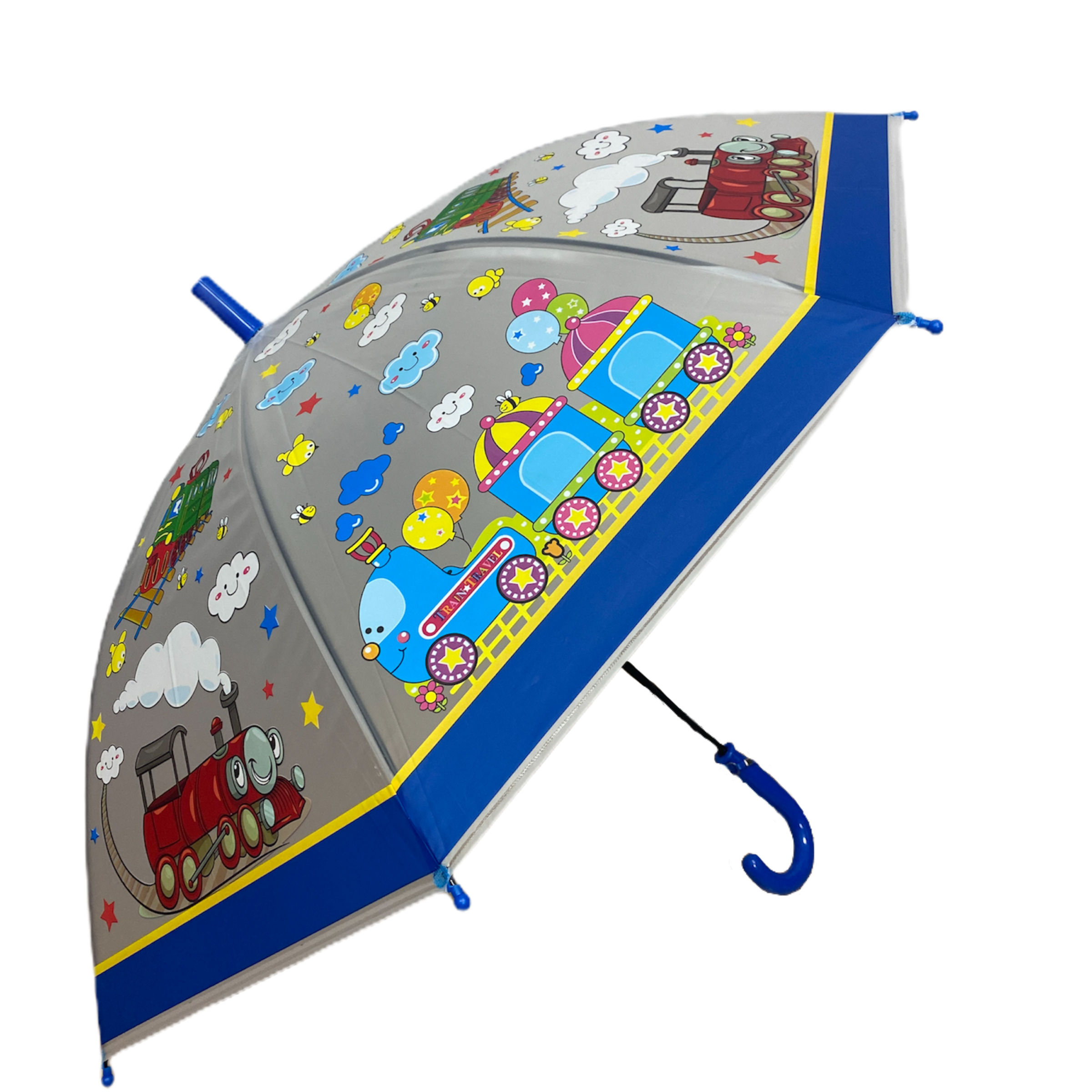 parasolka dziecieca dla dziecka chłopięca pociąg