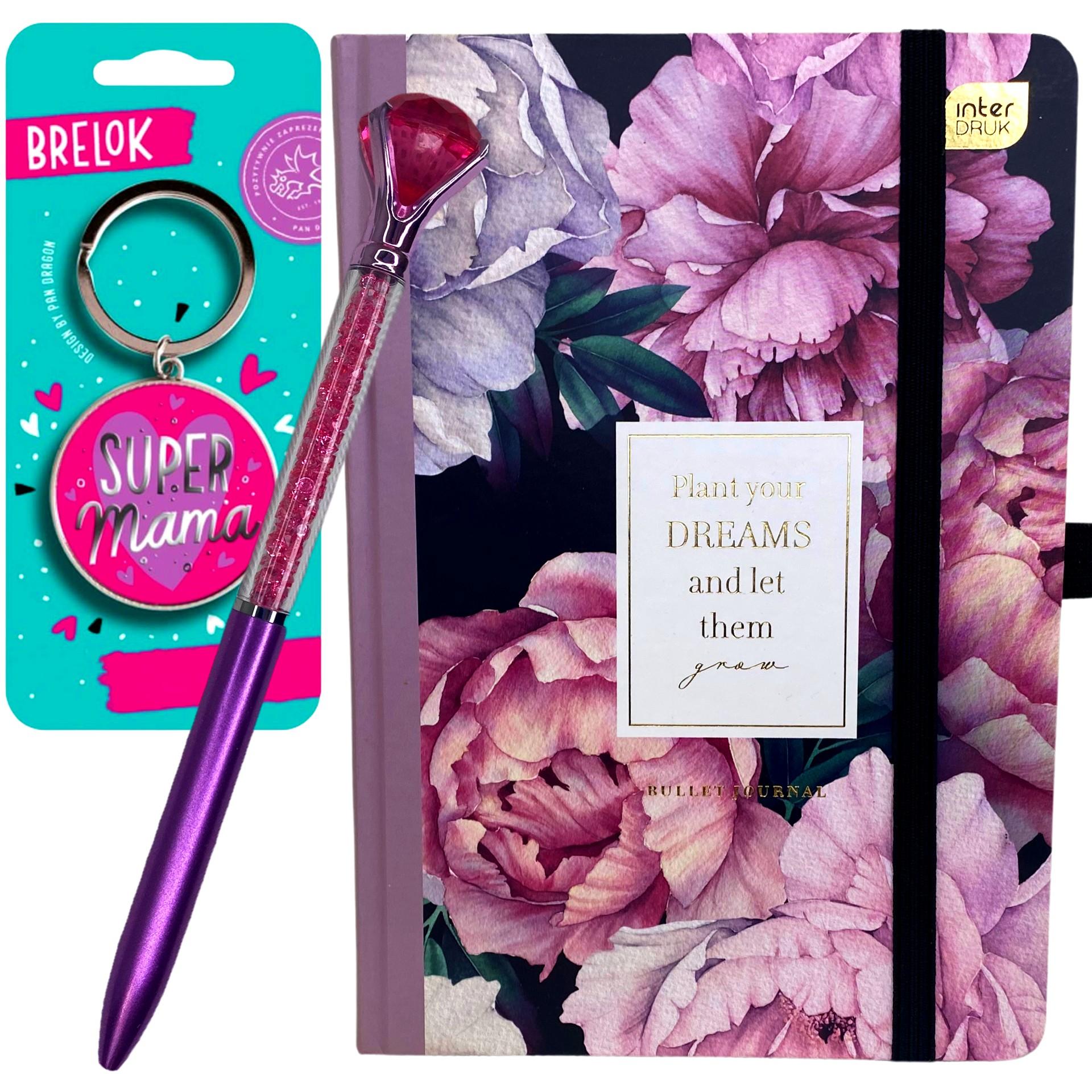 PRAKTYCZNY prezent na Dzień Mamy Planner Brelok Długopis