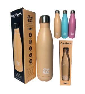 butelka termiczna pastelowa CoolPack bidon termos