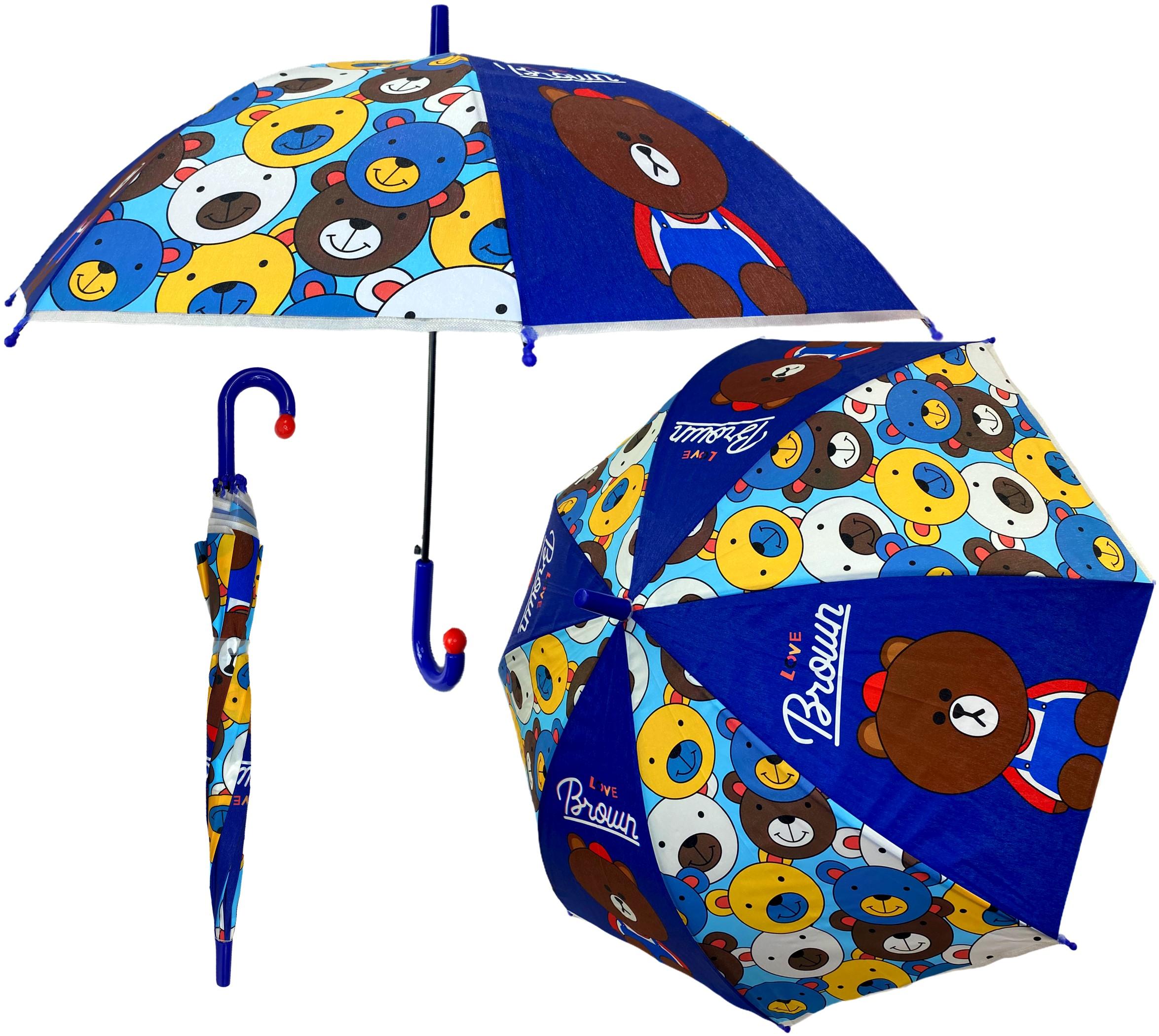 Parasolka chłopięca przeciwdeszczowa parasol dla dzieci