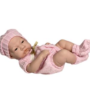 Lalka Bobas baby born jak żywa zestaw kocyk pampers