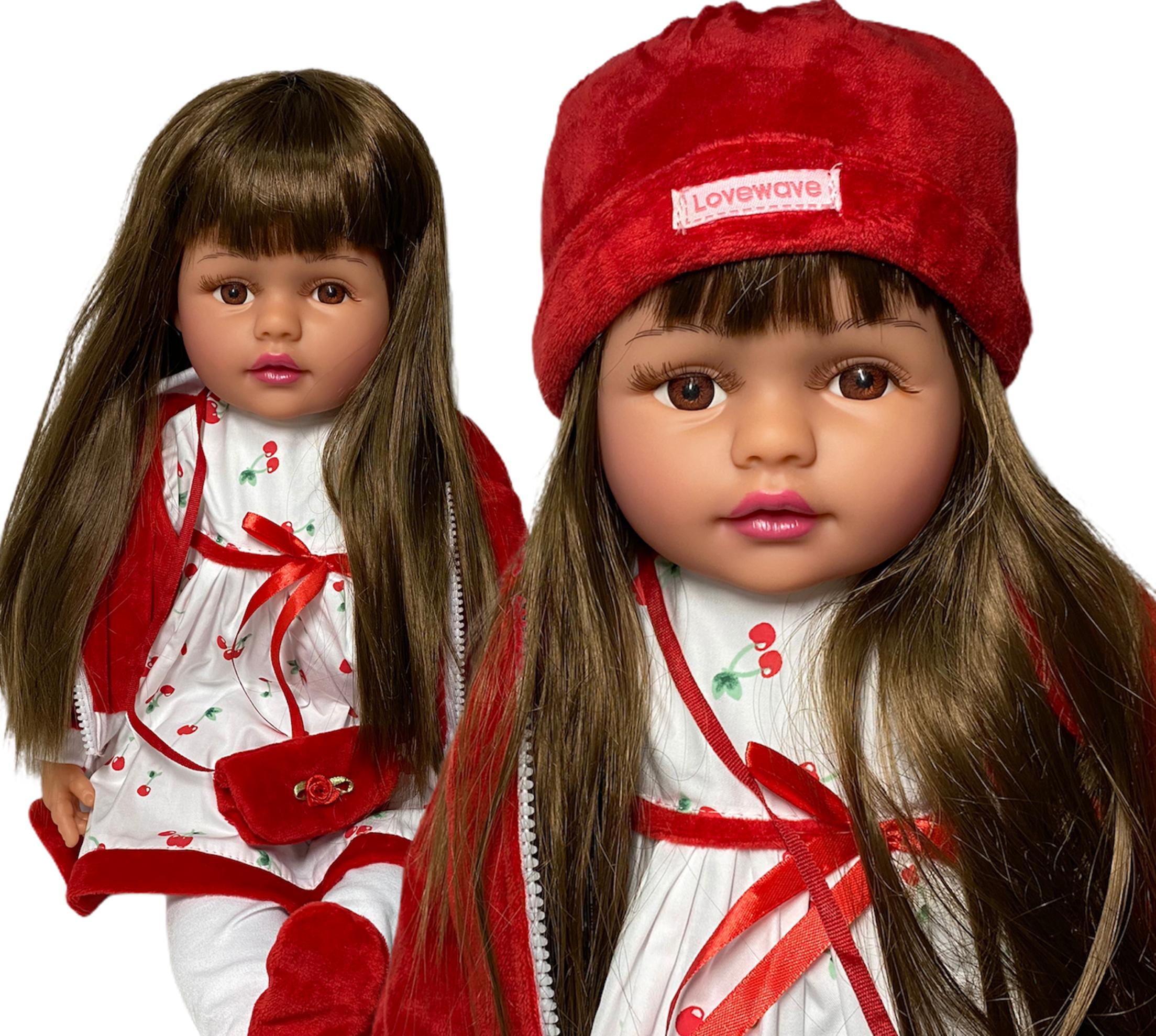 lalka jak żywa duża 60 cm spiewa mówi po polsku