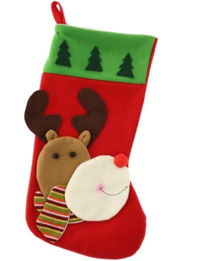 Skarpeta świąteczna renifer 3d święta