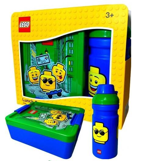 Lunchbox Lego Sniadaniówka i bidon do szkoły