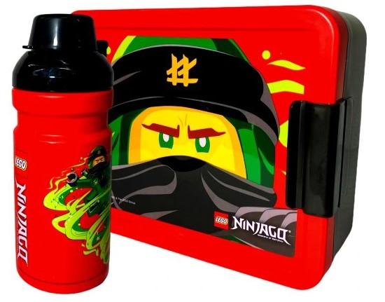 LEGO NINJAGO LUNCHBOX sniadaniówka bidon