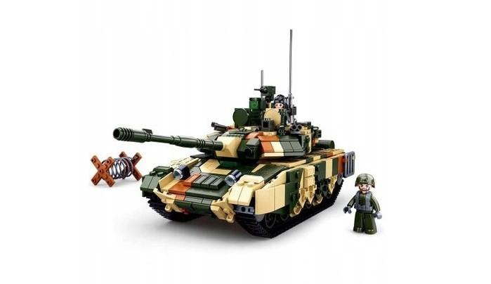 Klocki Sluban Wojsko CZOŁG ROSYJSKI T-90 758 el PASUJE DO LEGO