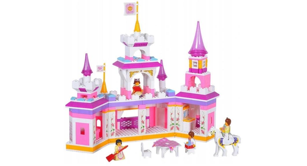 Klocki Sluban ZAMEK PAŁAC KSIĘŻNICZKI 385 el PASUJE DO LEGO