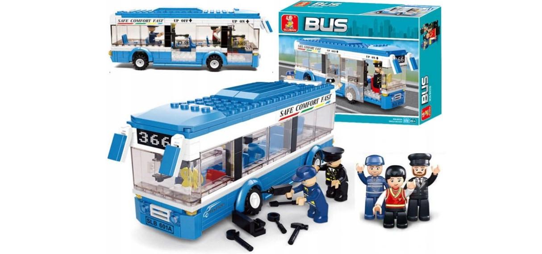 Klocki Sluban Town AUTOBUS MIEJSKI 235 el PASUJE DO LEGO