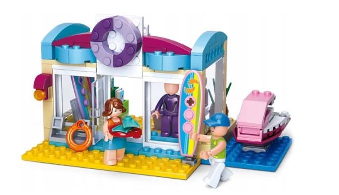 Klocki Sluban Friends PLAŻA WINDSURFING 180 el GIRLS PASUJE DO LEGO