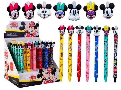 Zestaw długopisów wymazywalnych ścieralnych Minnie Mouse Miki