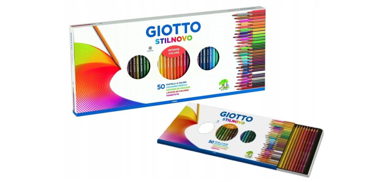 Zestaw artystyczny kredki Giotto Stilnovo 50 szt