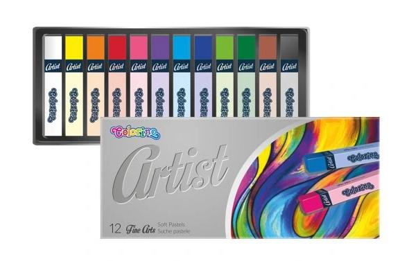 Suche pastele Artist 12 kolorów Colorino