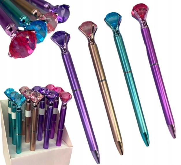 Długopis Diament Kolory pastelowe