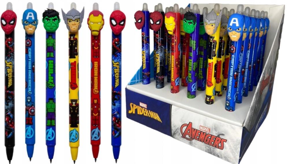 Długopis zakazany Tajniak Avengers Spider-Man Pens