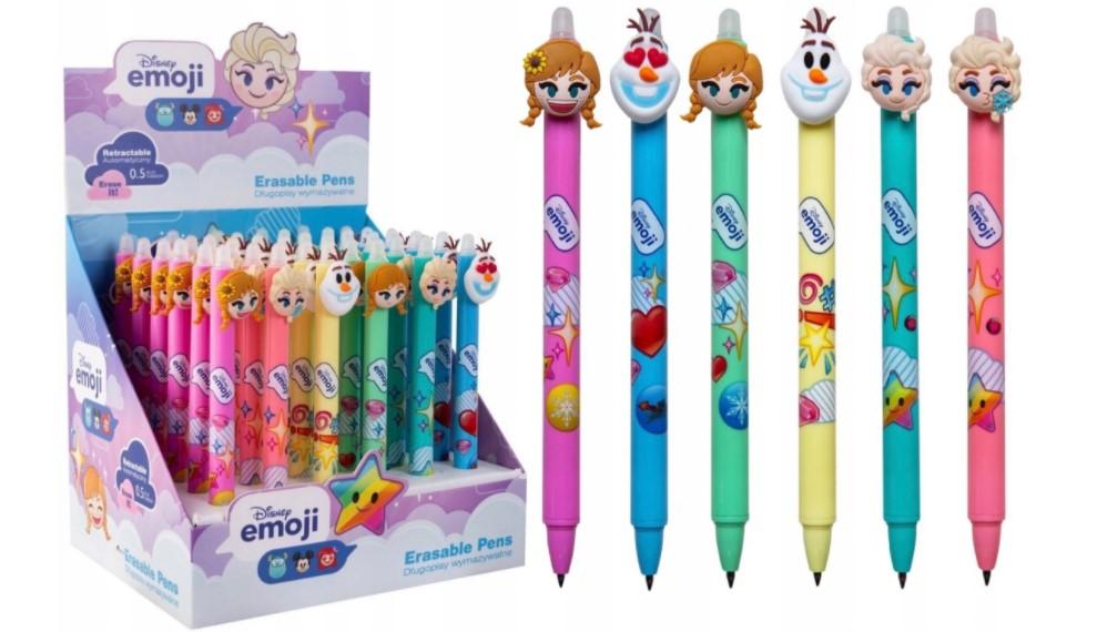 Zestaw długopisów Kraina Lodu Frozen wymazywalne
