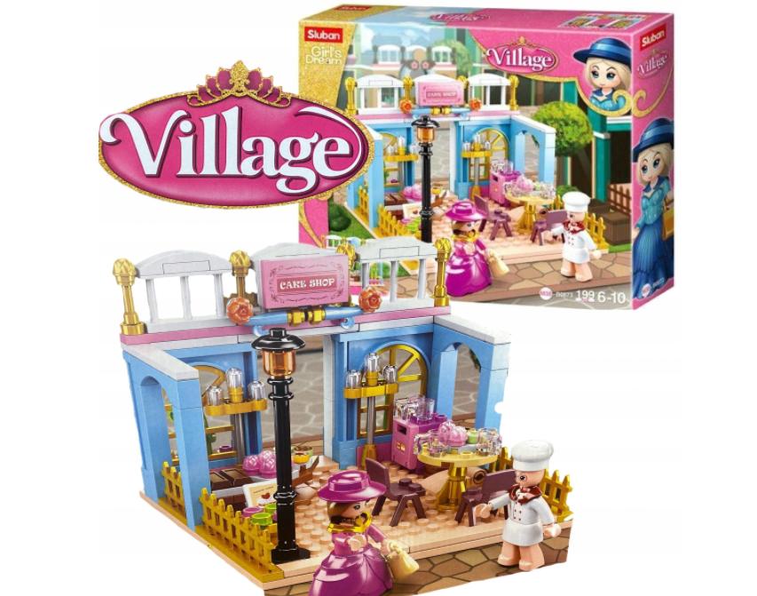 KLOCKI SLUBAN Lego Girls Dream cukiernia 199 el village