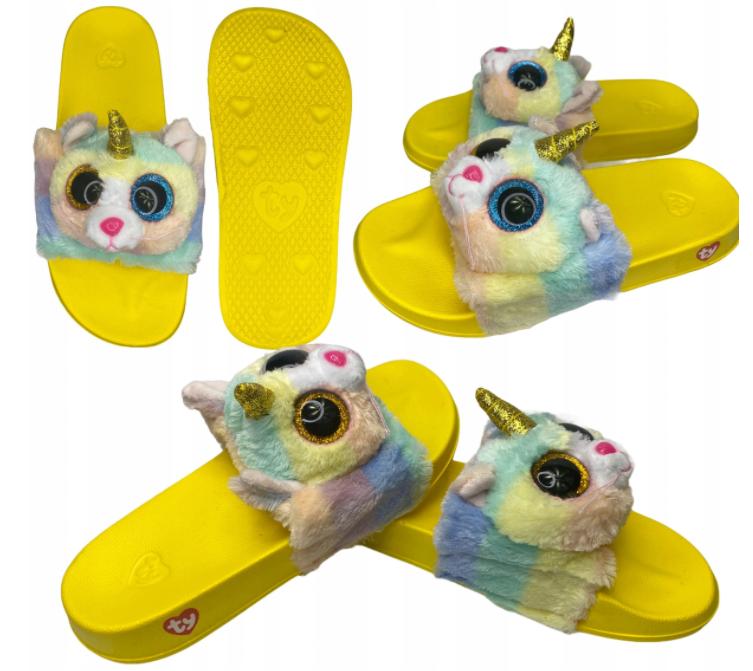Klapki dziecięce unicorn basenowe s Ty 23-26