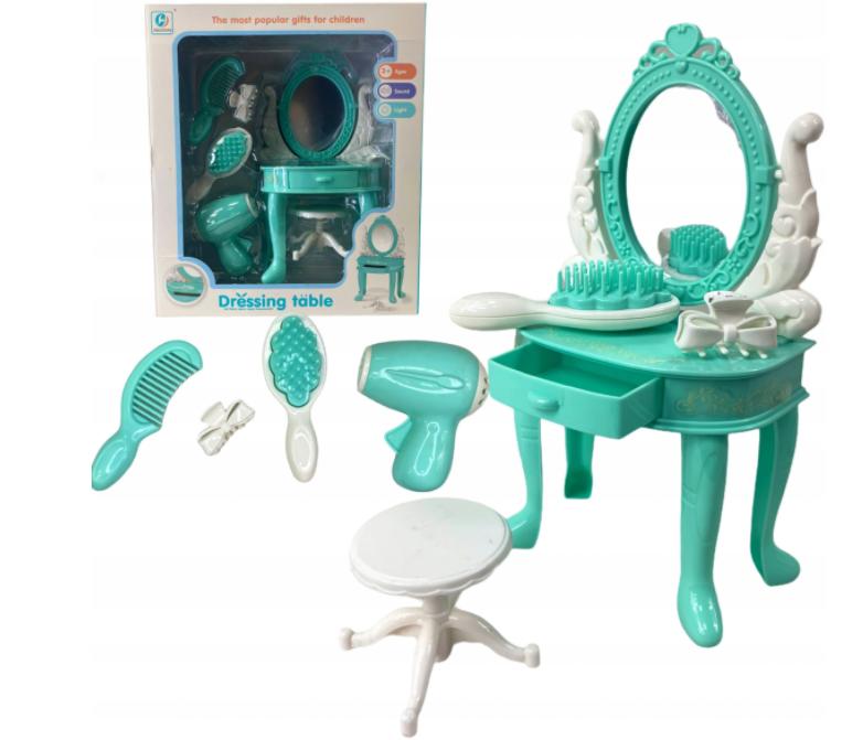 Toaletka dla lalki Barbie salon piękności akcesoria