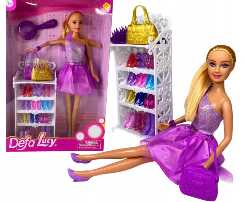 Lalka Barbie duży zestaw butów buty dla barbie