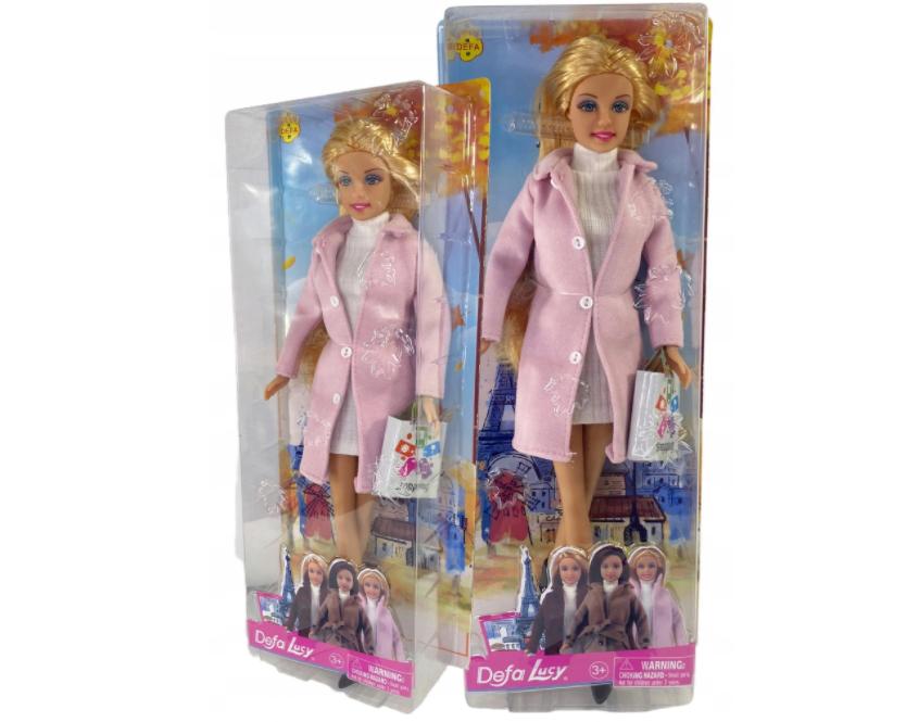 Lalka Defa Lucy Barbie w płaszczu
