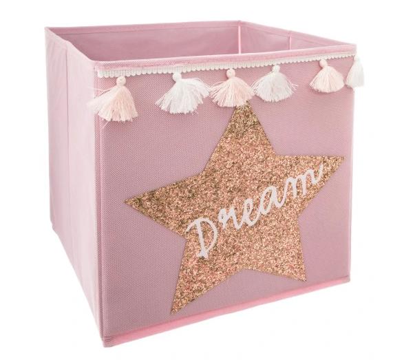 pojemnik na zabawki dla dziecka DREAM pokój dziecięcy