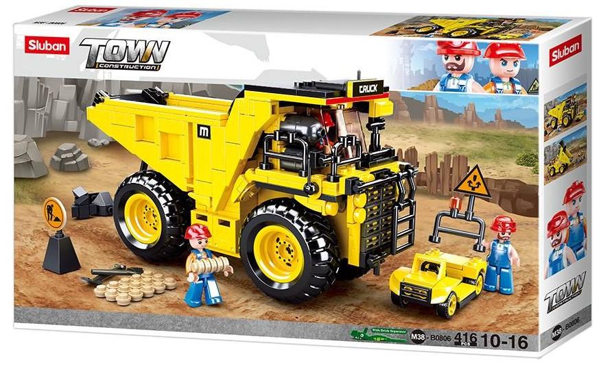 KLOCKI SLUBAN LEGO wywrotka budowlana 419