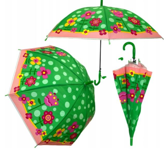Parasolka dziecięca parasol dla dzieci Dziewczynki kwiaty