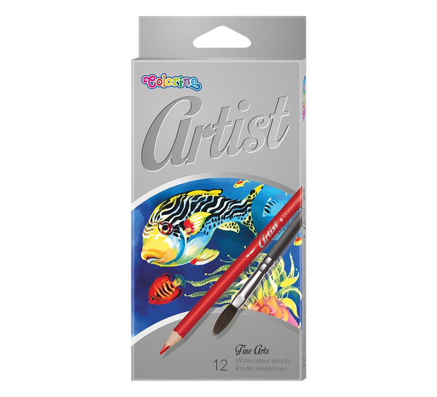 Kredki akwarelowe Artist 12 kolorów