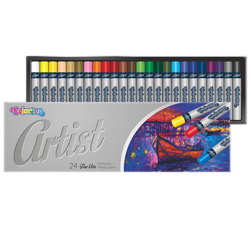 Pastele olejne Artist 24 kolory Colorino