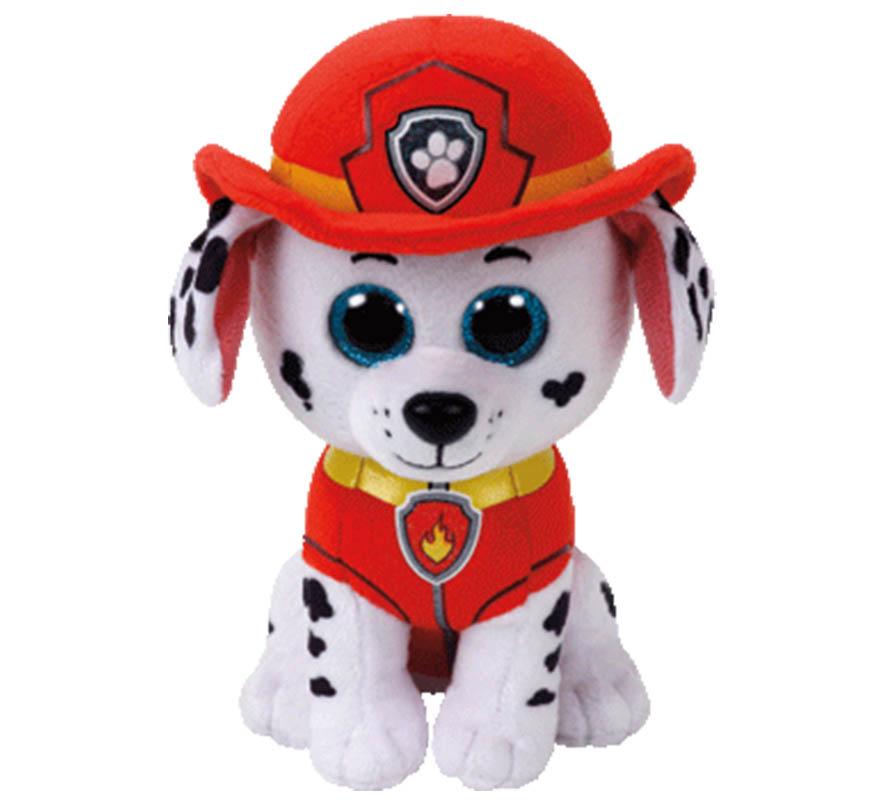 Maskotka PSI PATROL - pies MARSHAL TY 24 cm DUŻY