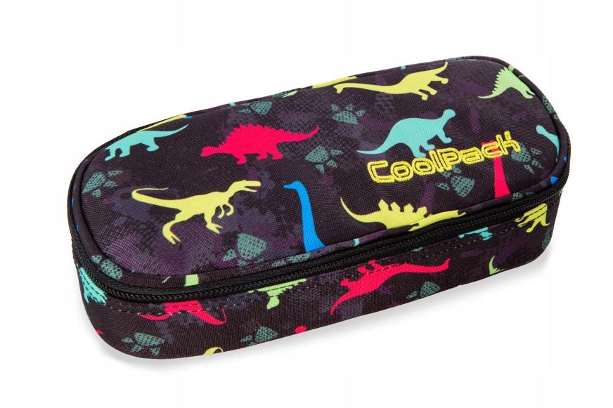 Piórnik sztywna saszetka szkolny Coolpack Dino