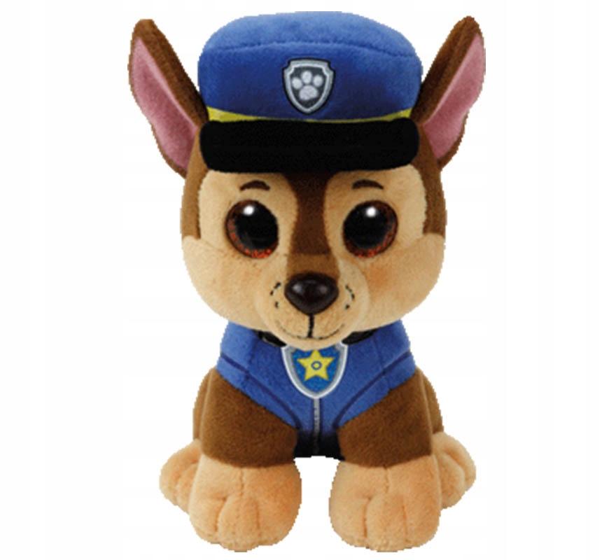 Maskotka pluszak Psi Patrol Ty paw Chase 15 cm