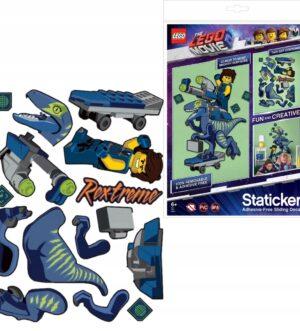 LEGO Staticker T Rex ruchoma układanka Movie 2