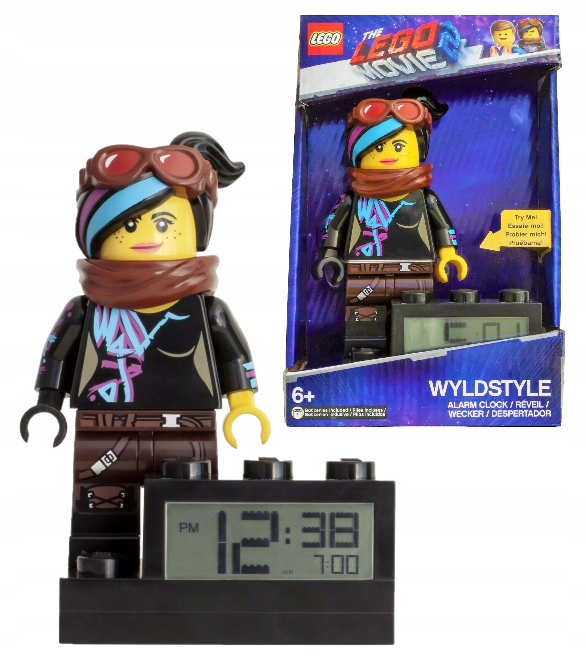 Budzik LEGO Wyldstyle Lego Movie 2