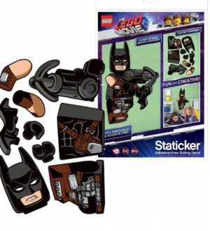 LEGO Staticker Batman ruchoma układanka Movie 2